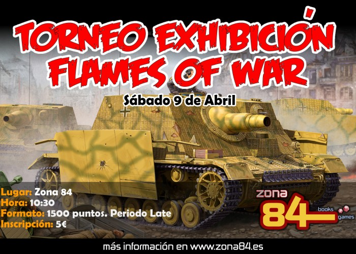 TORNEO FLAMES 9 ABRIL