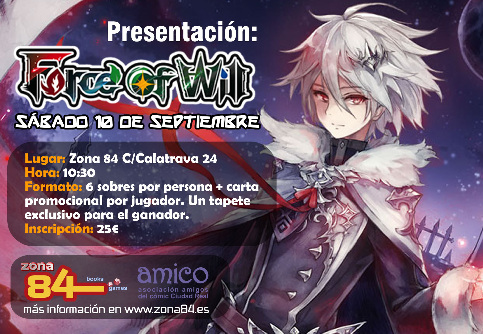 presentacion force of will